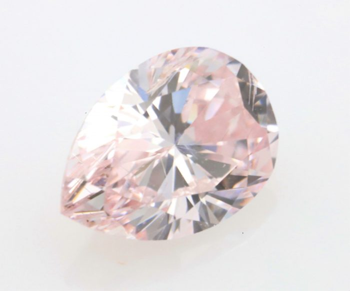 0.28 fancy pink ps35 700x583 - Pink Diamond – Natural Loose Fancy Pink GIA Certified 0.28ct Pear Cut SI1 Argyle