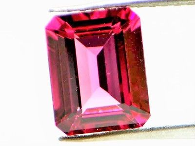 1 6 1 - 2.99ct Natural Loose Purplish Pink Tourmaline GIA Octagonal Emerald VS1 No Heat