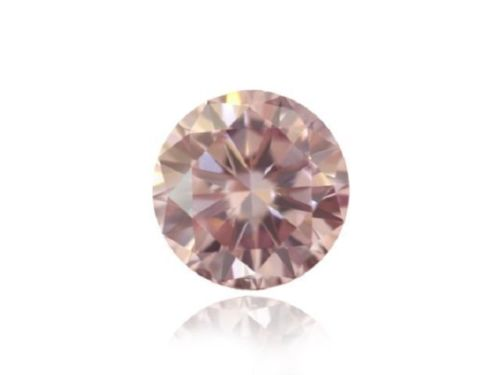 Pink Diamond - 0.14ct Natural Loose Fancy Purplish Pink Round GIA VS1 ARGYLE