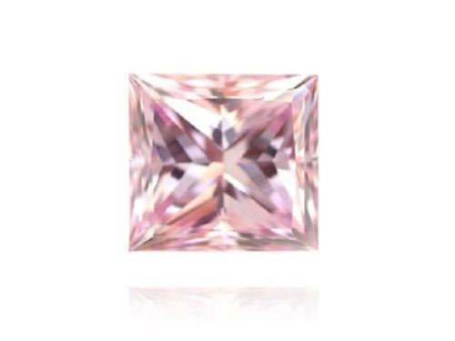 ARGYLE Diamond - 0.23 ct Natural Loose Fancy Light Pink GIA VS2 Argyle Princess