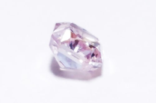 12 41 3 - 0.68ct Natural Loose Fancy Light Pink Color Diamond GIA Certified Radiant SI2