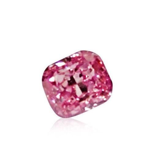 12 90 1 - Pink Diamond - 0.09ct Natural Loose Fancy Intense Purple Pink GIA Cert Marquise
