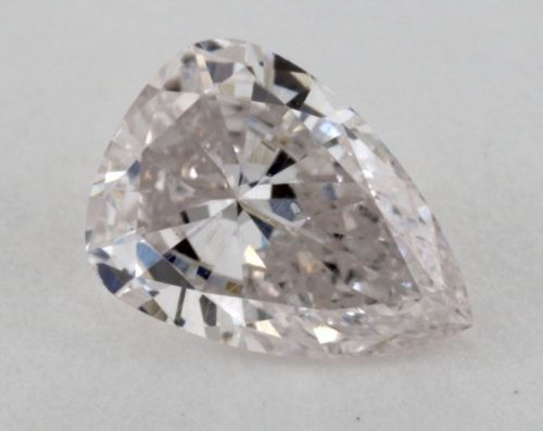 12 98 2 - 0.43 CT Natural Loose Fancy FAINT PINK Diamond GIA Certified Pear VS1