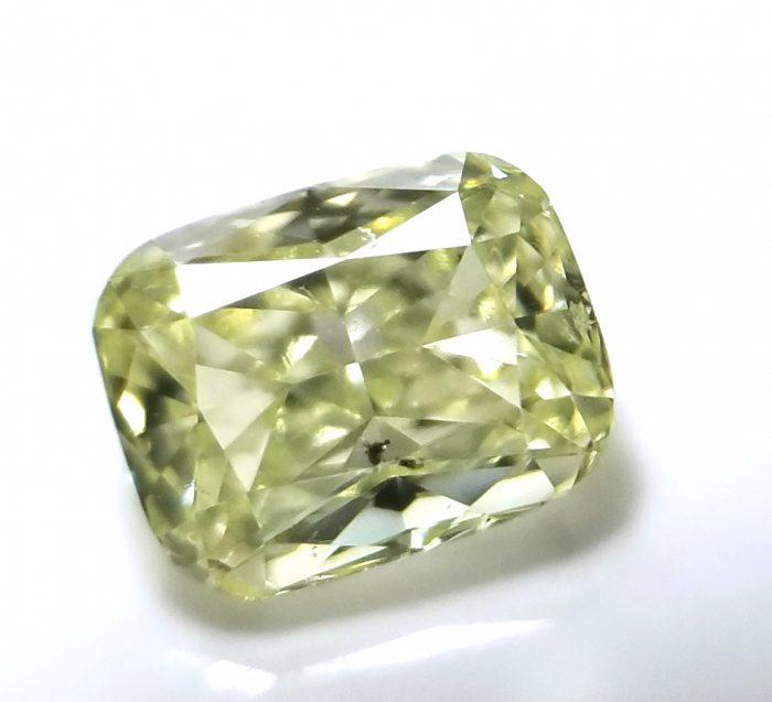 20181010 124818 700x637 - 0.55ct Natural Loose Fancy Light Green Yellow Diamond GIA Certified Cushion SI1