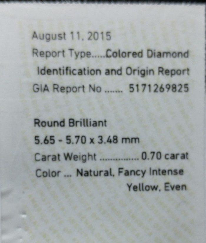 57 104 4 700x823 - Real Engagement Ring 1.15ct Natural Fancy Intense Yellow & Pink GIA 18K Gold