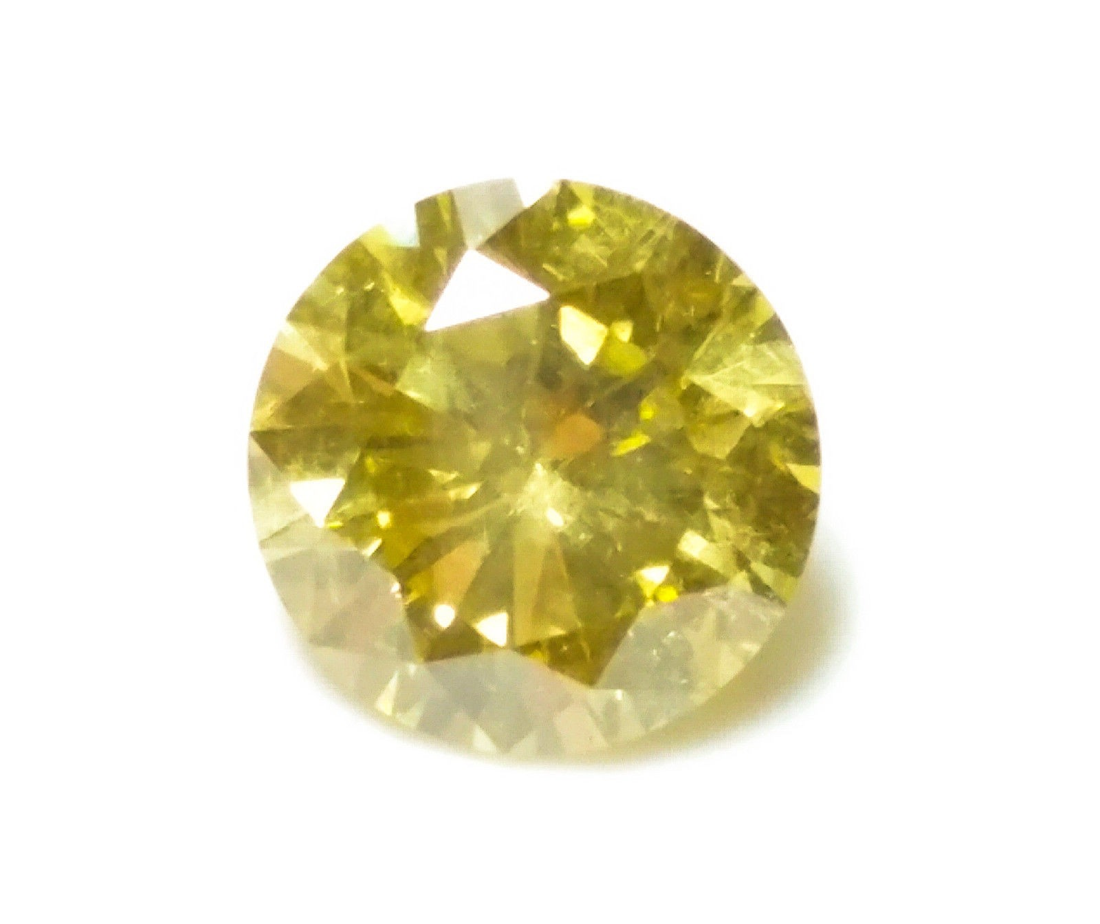 0 70ct yellow diamond natural loose fancy intense yellow color gia