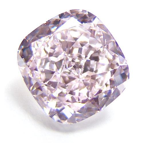 57 71 1 - 0.53ct Pink Diamond - Natural Loose Fancy Purplish Pink Color GIA Certified SI2
