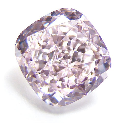 Pink Diamond - 0.50ct Natural Loose Fancy Purplish Pink Color Diamond GIA SI1