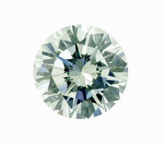 Green Diamond - 0.83ct Natural Loose Faint Green Color GIA VVS2 Round Fancy