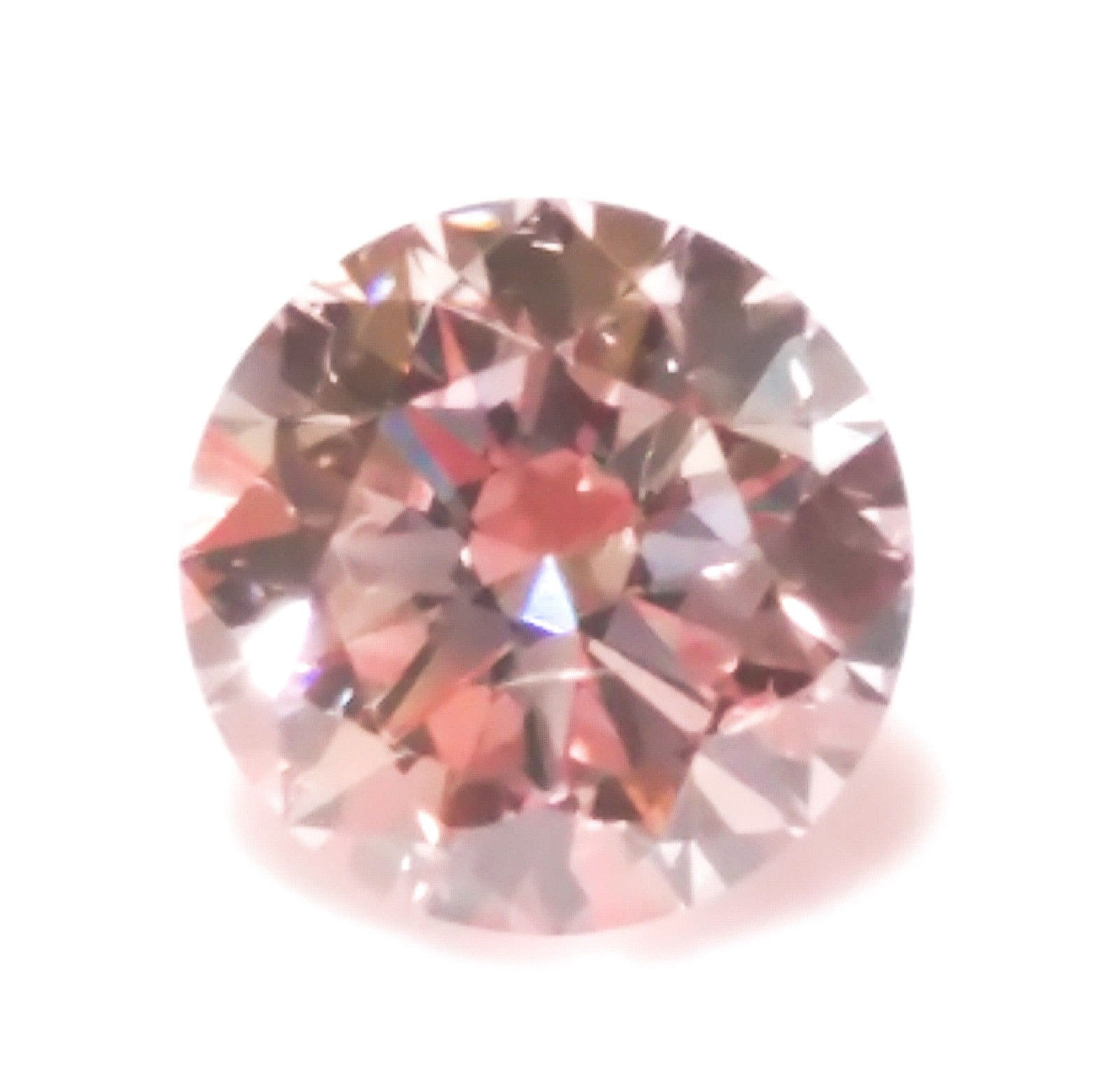 Pink Diamond - 0.23ct ARGYLE Natural Loose Fancy Light Pink Color GIA Round SI2