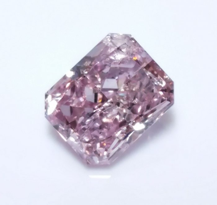 57 89 700x662 - 0.50ct Natural Loose Fancy Purple Pink Color Diamond GIA Certified Radiant SI2