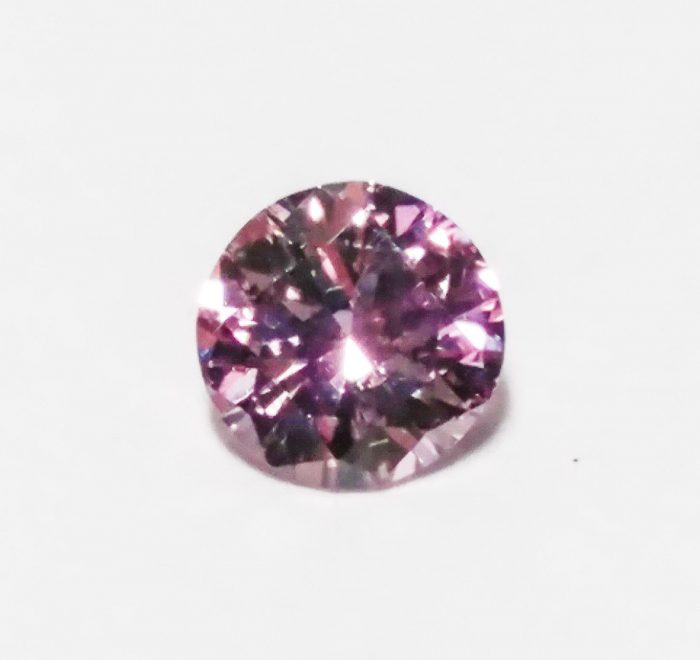 57 91 700x660 - 0.16ct Pink Diamond - Natural Loose Fancy Purplish Pink Round GIA Cert SI1