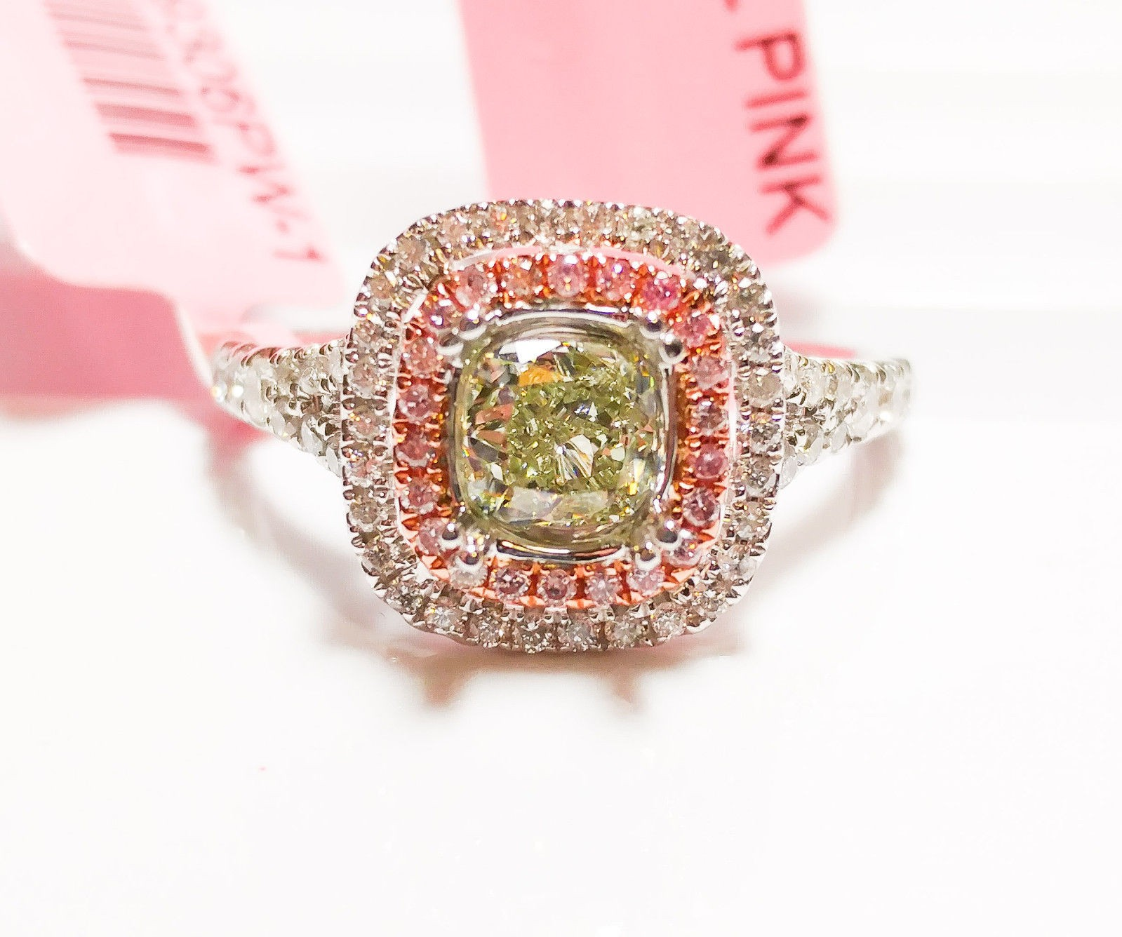 of rings h prongs color ct engagement set products gold certified g clarity copy ring white cluster diamond gia