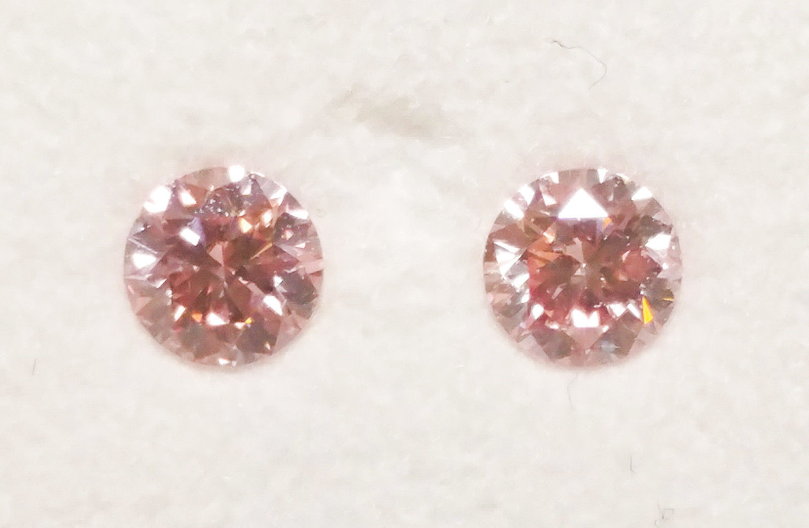 ARGYLE Pink Diamond - Natural Loose Matching Pair Of Fancy Pink CP1 SI1 Rounds