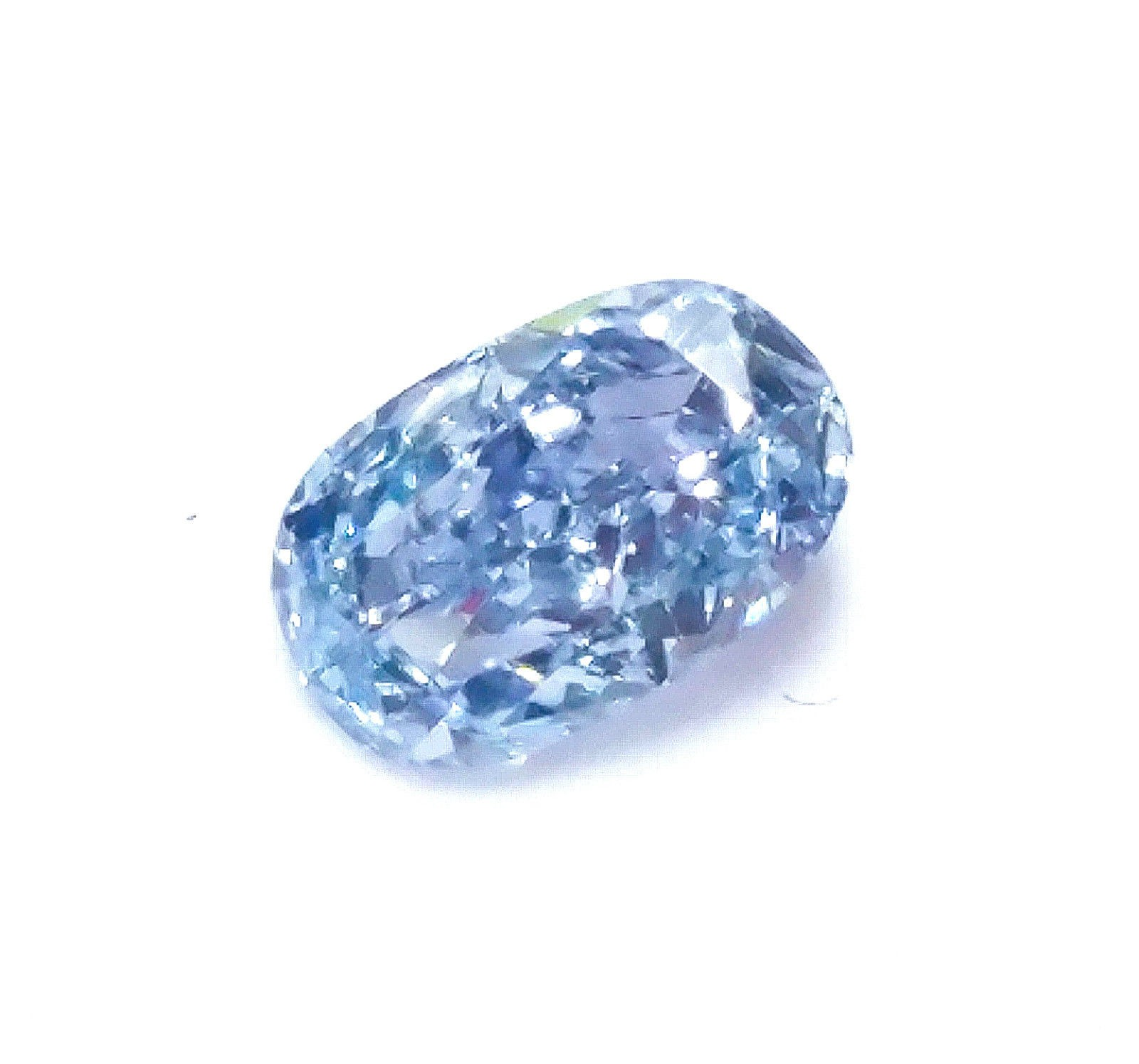Blue Diamond 0 16ct Natural Loose Fancy Intense Blue Color GIA
