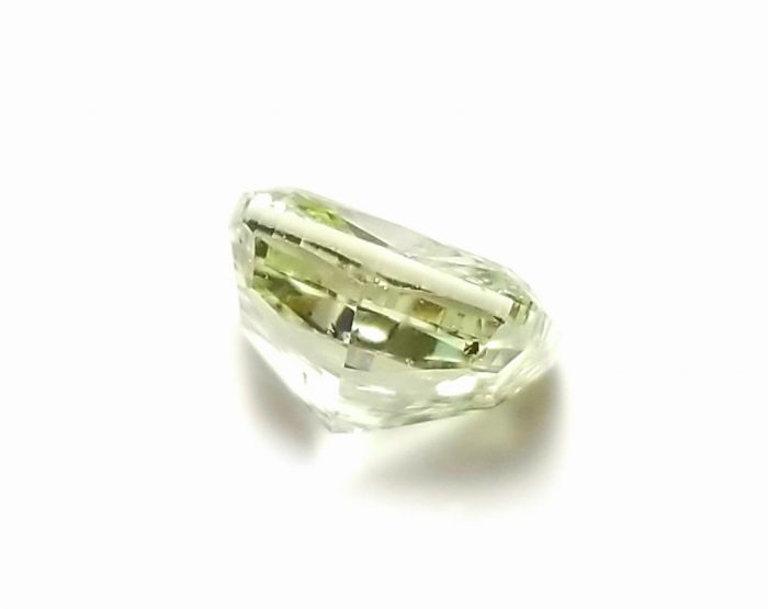 57 234 5 700x555 - 1.33ct Green Diamond - Natural Loose Fancy Yellowish Green Color GIA Cushion SI1