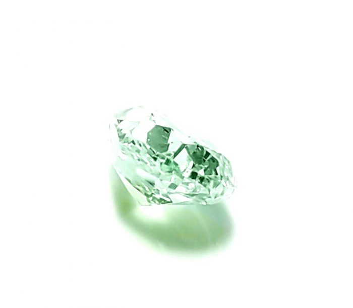 57 236 2 700x612 - 0.42ct Green Diamond - Natural Loose Fancy Light Green Color GIA Pear Shape SI1