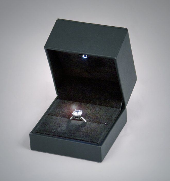 57 12 4 - 1.03ct Fancy Pink Diamond Engagement Ring GIA Round Hallo 18K White Gold SI1
