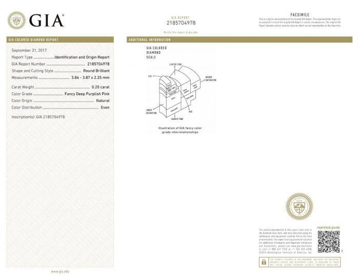 57 14 3 700x541 - 1.06ct Fancy Deep Pink Vivid Diamond Engagement Ring GIA Round Hallo 18K Gold