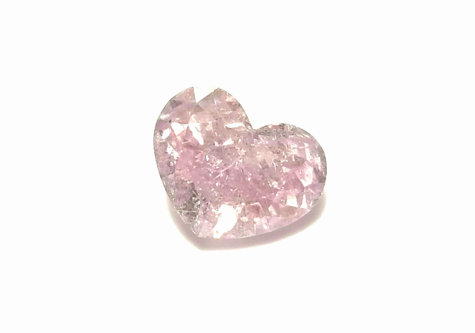 Pink Diamond - 1.05ct Natural Loose Fancy Brown Pink GIA Certified Heart Shape