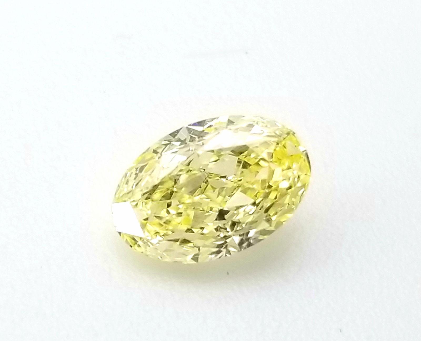 Yellow Diamond - 1.33ct IF Natural Loose Fancy Light Yellow GIA ...