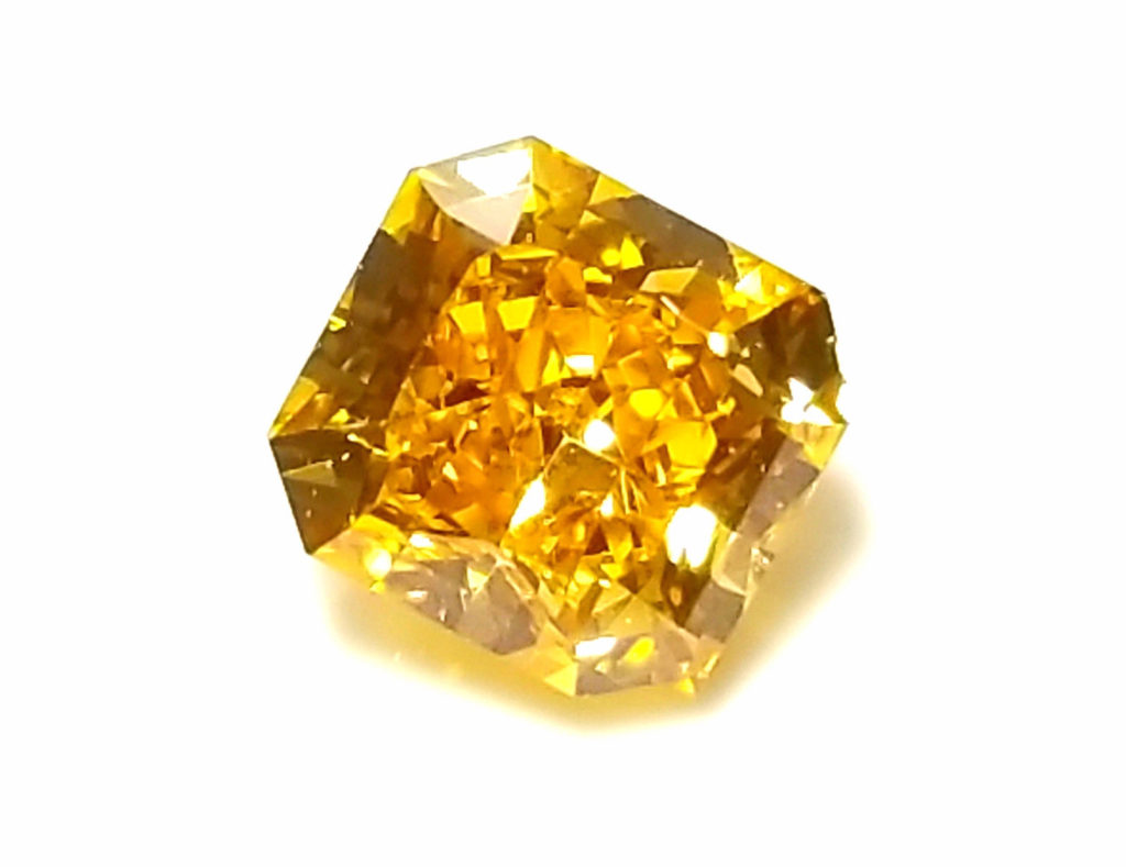 a diamond with color is an inferior jewel ?