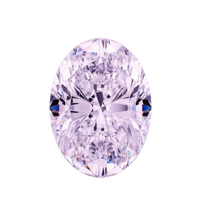 57 13 700x657 - VVS1 0.51ct Pink Diamond - Natural Loose Fancy Faint Pink GIA Certified Oval