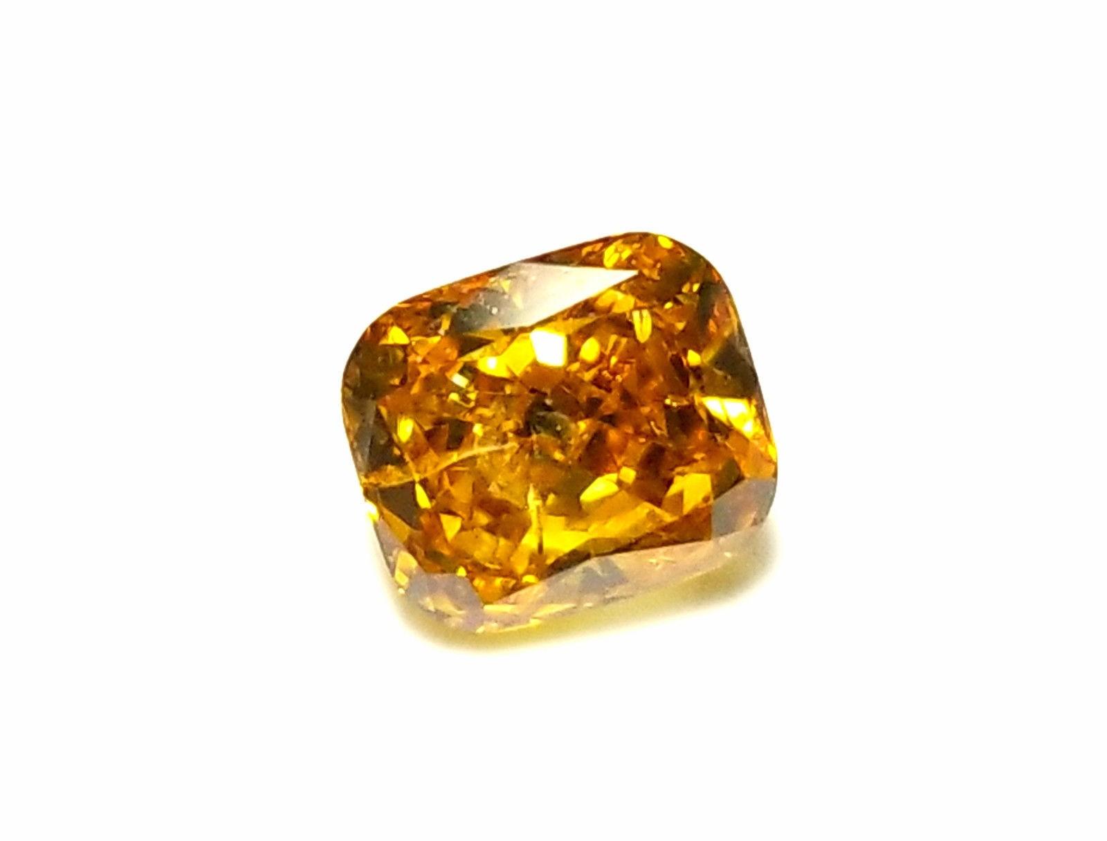 923aa79b34 57 15 - 1.02ct Orange Diamond - Natural Loose Fancy Deep Orange Yellow GIA  Cushion