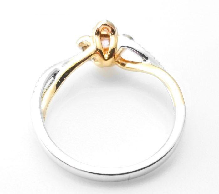 57 7 3 700x621 - 0.52ct Natural Fancy Pink Diamonds ARGYLE Engagement Ring GIA Round 18K Gold
