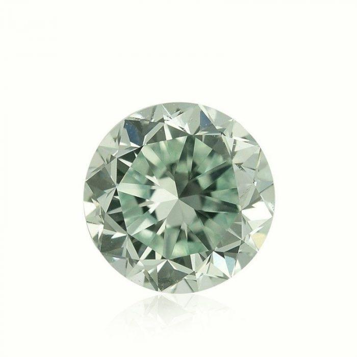 57 19 700x700 - Green Diamond - 0.84ct Natural Loose Fancy Light Yellow Green GIA Round VS2