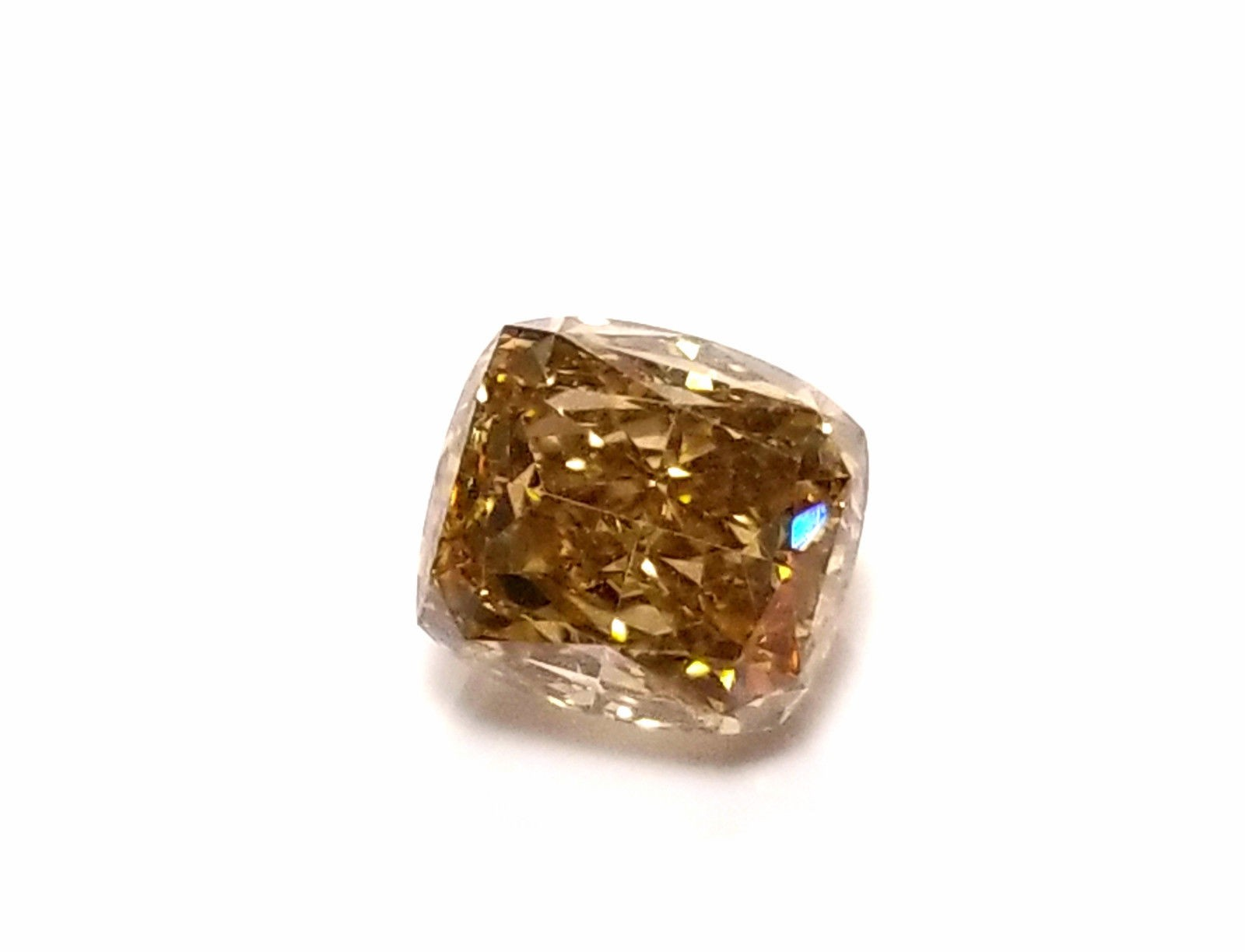 carat id clarity fancy cushion yellowish brown cut diamonds dark diamond