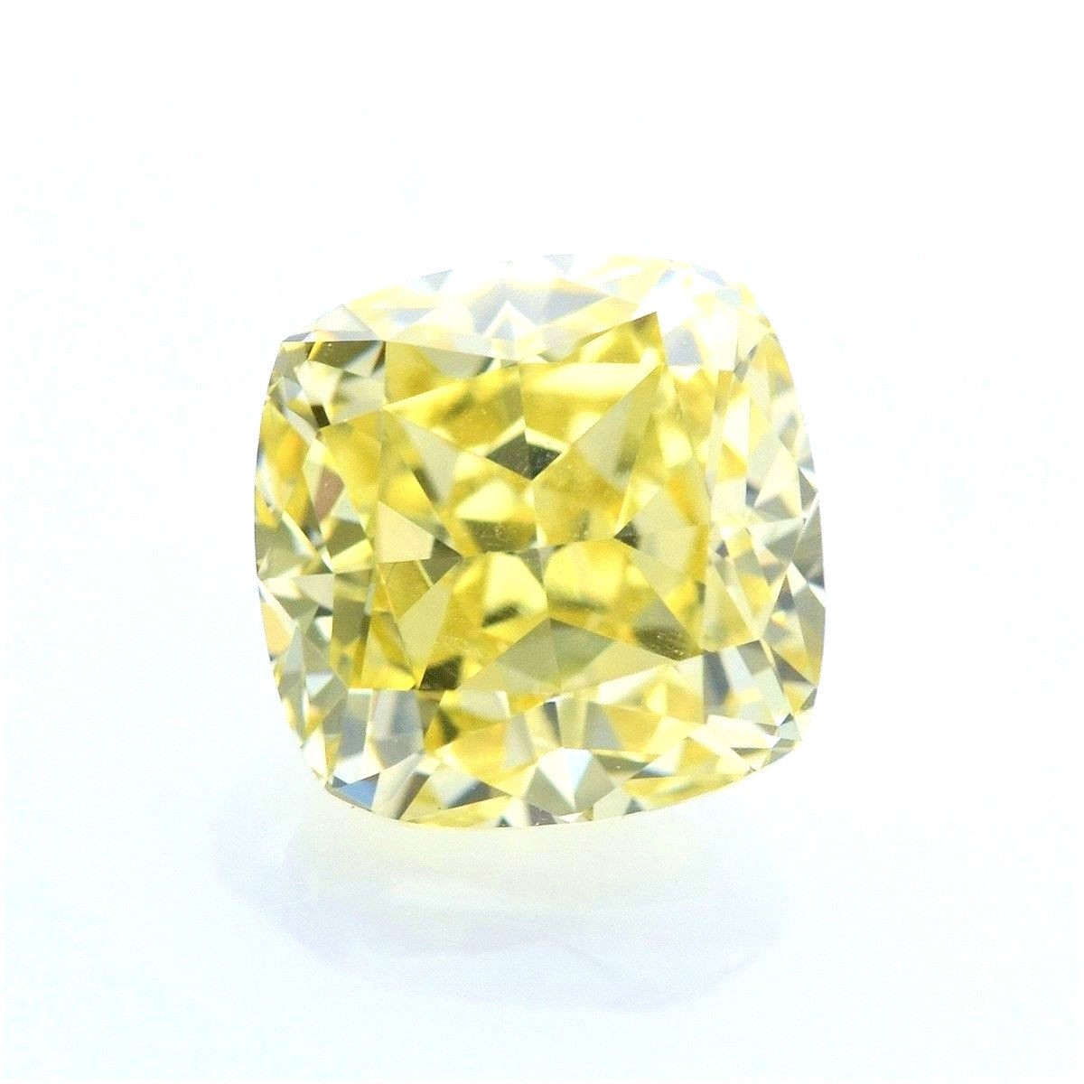 stone canary htm diamond p cut brilliant ring platinum radiant