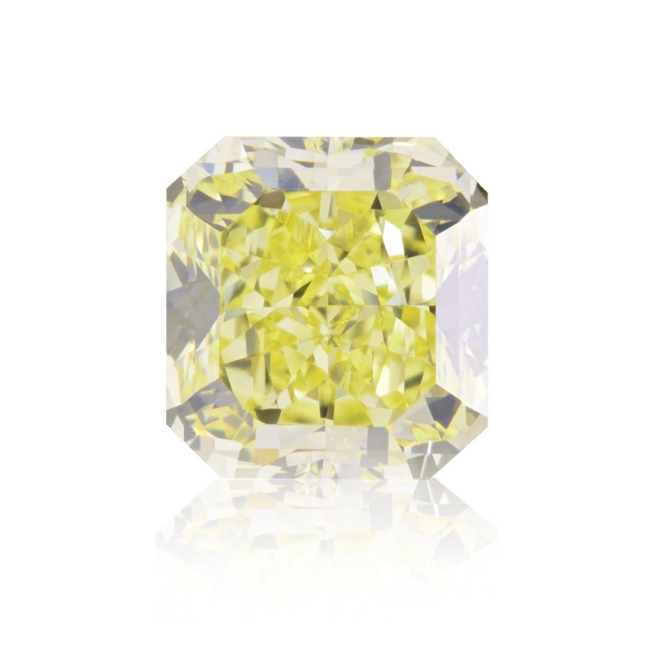 Yellow Diamond  - 2.01ct Natural Loose Fancy Light Yellow Canary Diamond GIA VS1