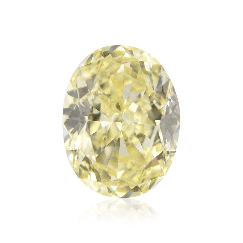 Yellow Diamond - 2.00ct Natural Loose Fancy Light Yellow Canary Diamond GIA VS1