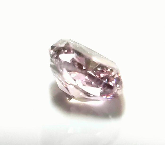 20181128 150430 700x617 - 0.37ct Natural Loose Fancy Light Purplish Pink Color Diamond GIA Cushion VS1