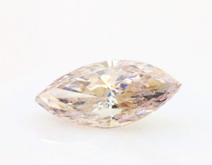 2.98ct mq2 700x546 - Real 2.98ct Natural Loose Fancy Light Pink Brown Color Diamond GIA Marquise Trea
