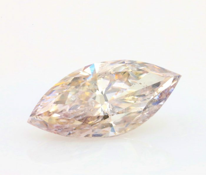 2.98ct mq35 700x596 - Real 2.98ct Natural Loose Fancy Light Pink Brown Color Diamond GIA Marquise Trea