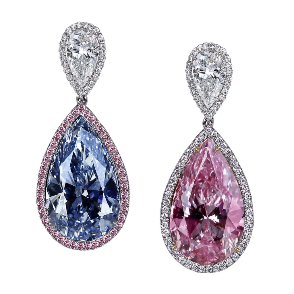 blue and pink natural diamonds are the best
