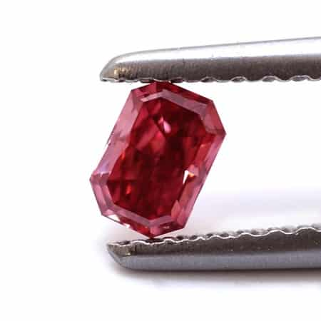 natural loose red diamond
