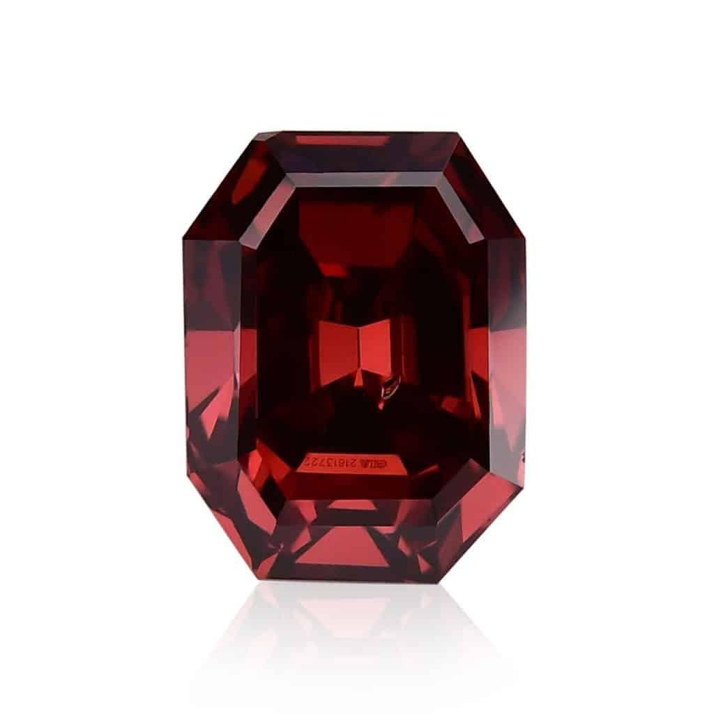 rare red diamond