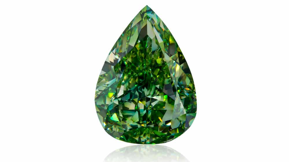 shapes of green diamonds