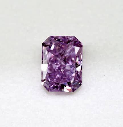 fancy intense purple diamond