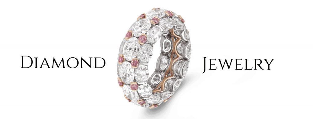 color diamond jewlry