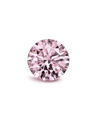 Argyle round pink
