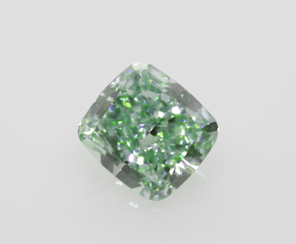 intense green diamond