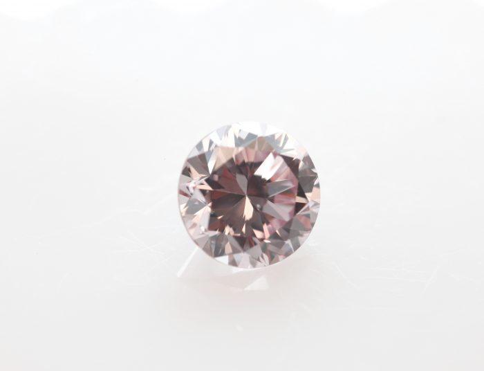 round fancy pink diamond
