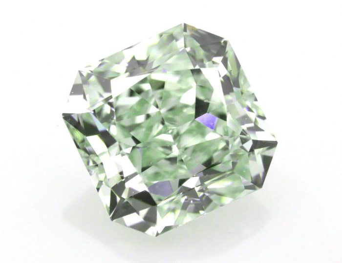 150ct Green Diamond Natural Loose Fancy Light Green Color GIA Radiant VVS2 264237705930 700x540 - 1.50ct Green Diamond - Natural Loose Fancy Light Green Color GIA Radiant VVS2