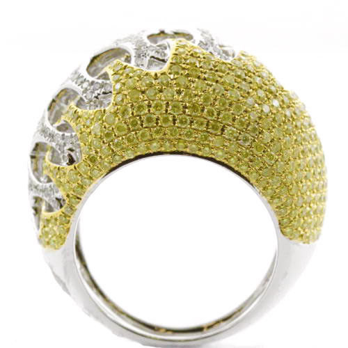 Real 303ct Natural Fancy Yellow Diamonds Engagement Ring 18K Solid Gold 12G 263738746710 3 - Real 3.03ct Natural Fancy Yellow Diamonds Engagement Ring 18K Solid Gold 12G