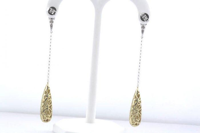 391ct Fancy Intense Yellow Diamonds Earrings 18K All Natural 9 Grams Y Gold 263781428891 2 700x467 - 3.91ct Fancy Intense Yellow Diamonds Earrings 18K All Natural 9 Grams Y Gold