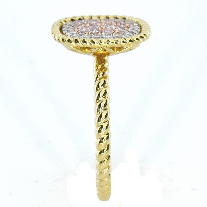 Real 030ct Natural Pink Purple Color Diamond Engagement Ring Cushion 18K VS SI 263744165881 2 700x700 - Real 0.30ct Natural Pink Purple Color Diamond Engagement Ring Cushion 18K VS-SI